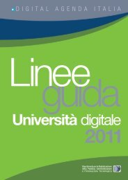 Linee guida Università Digitale 2011 (Report ... - ICT4University