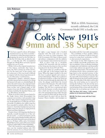 Government 9mm Guns Australia April/June 2013 - Frontier Arms