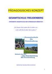 pädagogisches konzept gesamtschule freudenberg