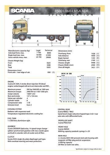 R500 LB 6x4 MSA ADR pg1 - scania.co.bw
