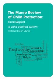 The Munro Review of Child Protection: Final Report - Norfolk ...