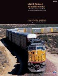 2002 Annual Report R-1 - Union Pacific