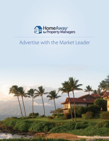 Advertise with the Market Leader
