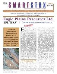 The Smartstox Report - Eagle Plains Resources