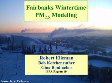Fairbanks, Alaska inversion project