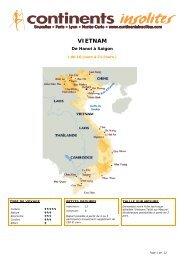 VIETNAM - Continents Insolites