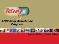 ADAP Forum - The AIDS Institute
