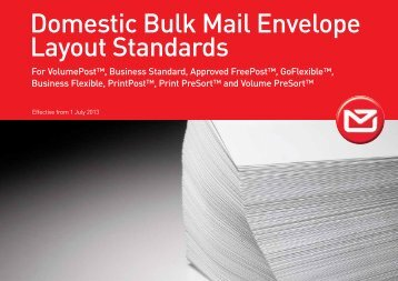 Envelope Layout Standards - New Zealand Post