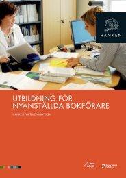 utbildning för nyanställda bokförare - Svenska handelshögskolan
