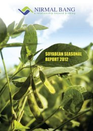 Soybean Seasonal Report