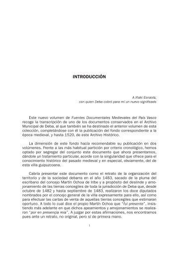 Archivo Municipal de Deba. II. Libro de los Apeos y Ventas de ...
