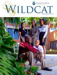 WildcatVolume 14, Issue 1 - Johnson & Wales University