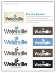 Waterville, Maine Branding Style Guide - City of Waterville - Page 2