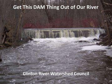 Paint Creek Dam Removal