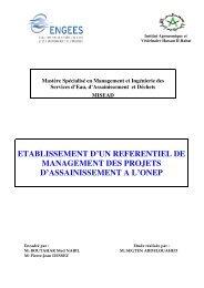 etablissement d'un referentiel de management des ... - ENGEES
