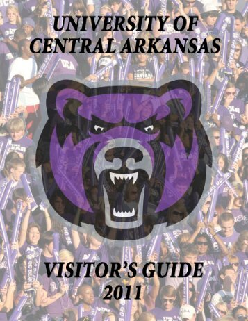 Download the Visitor's Guide - UCA Sports