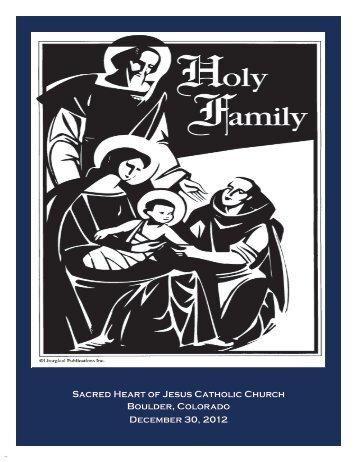 Sacred Heart of Jesus Catholic Church Boulder, Colorado ...