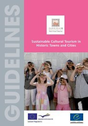 Sustainable Cultural.. - European Association of Historic Towns ...