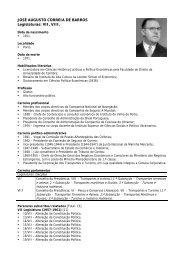 JOSÉ AUGUSTO CORREIA DE BARROS Legislaturas: VII, VIII.