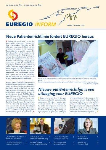 EUREGIOInform maart 2013