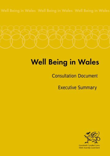 A4 Executive summary eng - Health in Wales
