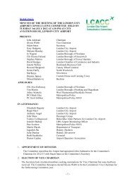 July 2012 - London City Airport Consultative Committee