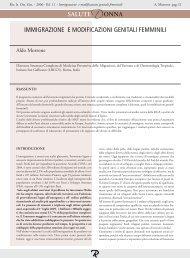 immigrazione e modificazioni genitali femminili - Mnlpublimed.com