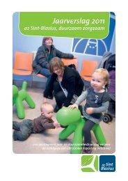 Duurzaamheidsverslag conform GRI van AZ Sint Balsius 2011