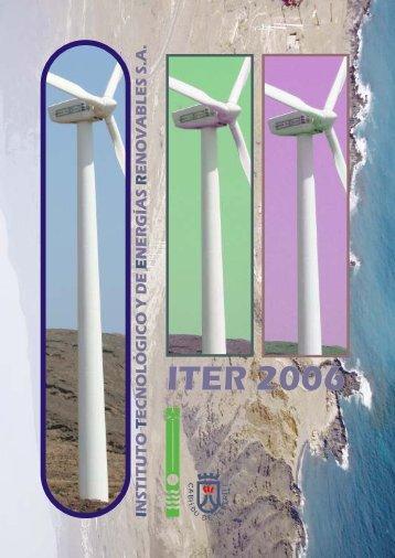 Memoria ITER 2006 ingles - Instituto Tecnológico y de Energías ...