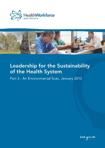 Part 3 - An Environmental Scan, January 2012 - Health Workforce ...