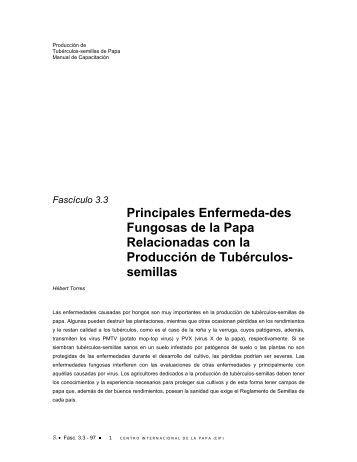 Principales enfermedades fungosas de la Papa ... - Neiker