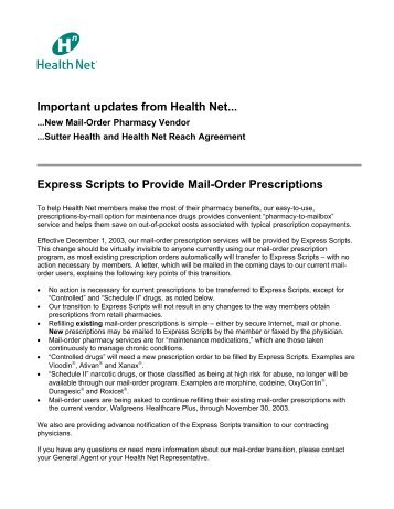 1 Express Scripts And Medco Health Solutions Inc Have