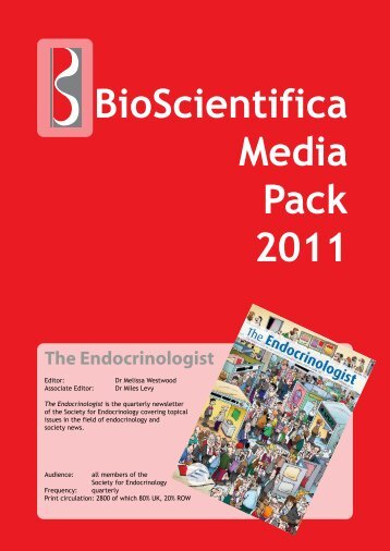 Download Media Pack (pdf) - Society for Endocrinology