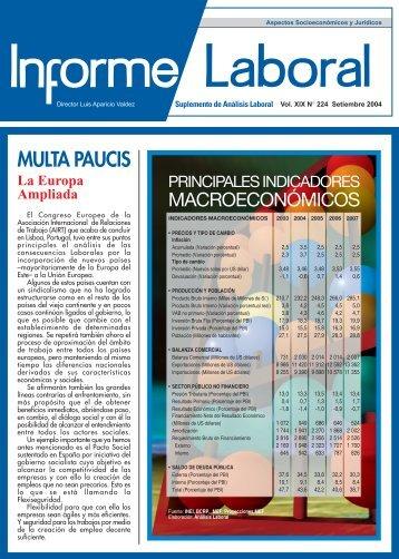 MULTA PAUCIS - AELE