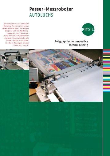 Passer-Messroboter AUTOLUCHS - Sächsisches Institut für die ...