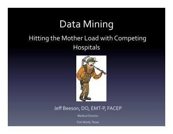 Beeson Data Mining - Gathering of Eagles