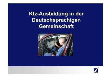 Infoabend Kfz-Ausbildung - IAWM