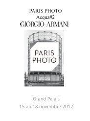 Grand Palais 15 au 18 novembre 2012 - Christophe Guye Galerie