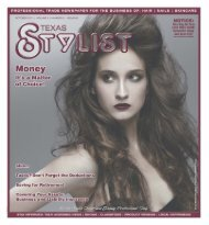 October - Stylist and Salon Newspapers
