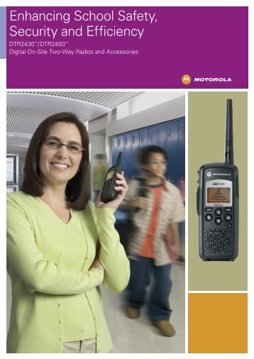 Enhancing School Safety, Security and Efficiency - Wireless 2-Way