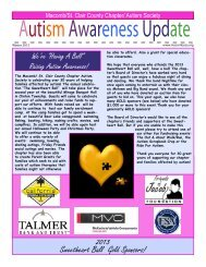 Latest Newsletter - Macomb St. Clair Autism Society of America