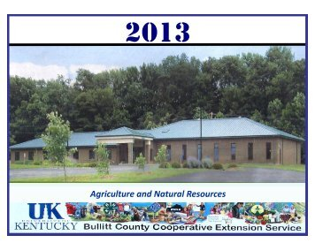 Agriculture and Natural Resources - Bullitt County Cooperative ...