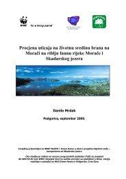 Procjena uticaja na životnu sredinu brana na ... - NVO Green Home