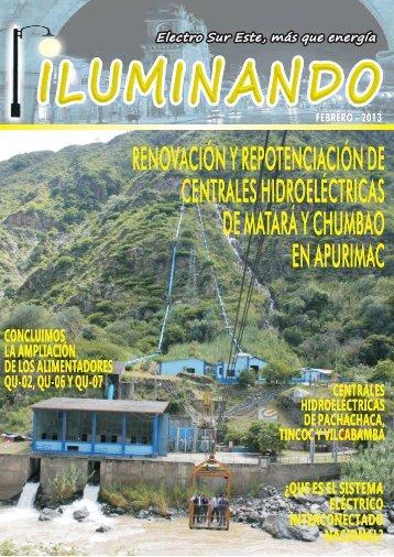 REVISTA ILUMINADO - FEBRERO 2013 - Electro Sur Este