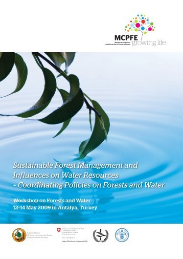 Sustainable Forest Management ~ Warsaw resolution forests and water forest europe
