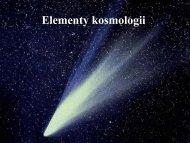 Elementy kosmologii