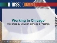 Slideshow Presentation - HIMSS Vendor Center