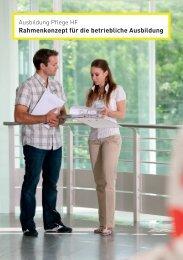 Rahmenkonzept für die betriebliche Ausbildung - OdA Gesundheit
