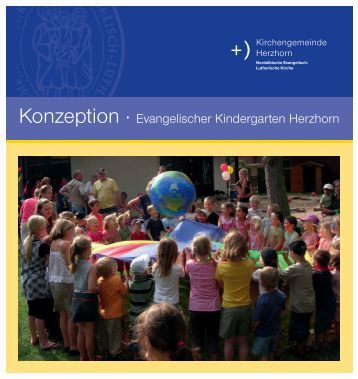Konzeption for Evangelischer kindergarten