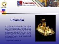 Colombia - Mona Minas - Gold Mining Company